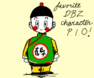 Draw your favorite Dragonball z character PIO
