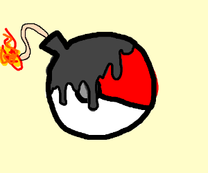 Pokeball mistaken for bomb