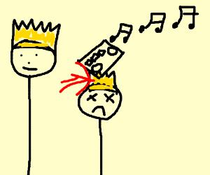 A radio killed Prince