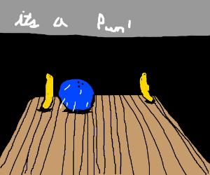 Banana (bowling) split!