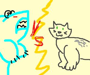 Mighty sharkbear VS gorillacat