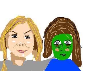 Lizzie still loves zombie-friend Sophia