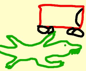 Interior Crocodile Alligator I Drive A Chevy