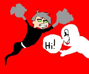 Danny Phantom meets Casper the Friendly Ghost