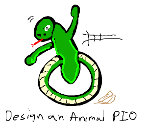 Design an animal - Pass it on / PIO
