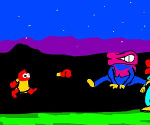 Plok! Fights The Bobbins Bros