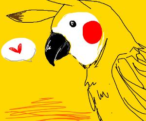 The parrotchu!