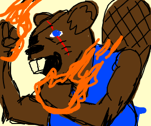 bad ass majikal beaver