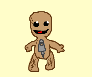 The one character from Little Big Planet