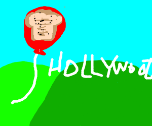 Balloon toast goes to Hollywood