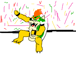 Bowser advertises a weight loss program