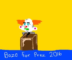 All politics are clowns..