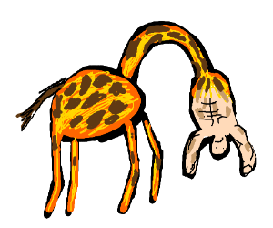 Centaur, but as a giraffe instead of a horse