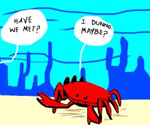 That crab looks familiar