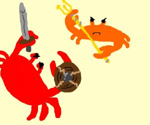 crab battle!