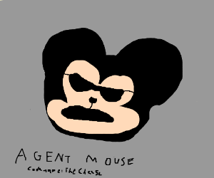 Mickey Mouse is a secret government agent