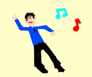 Spock Dancing