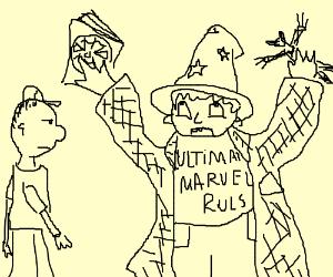 Boy finds ultimate wizard fanboy