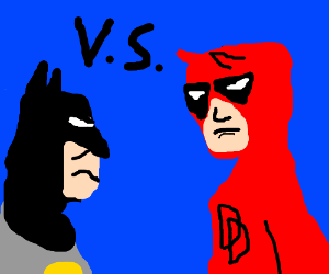 marvel universe vs dc universe.use characters!