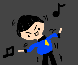 Spock dances. Yey :D