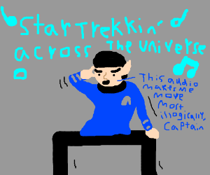 Spock (Star Trek) Dancing