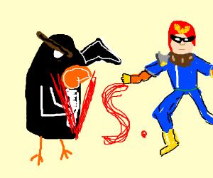 Pingu vs. Captain Falcon