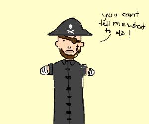A Rebellious, Armless Pirate