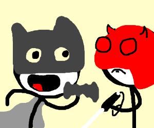 batman vs dare devil