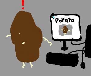 Potato sees itself on Drawception.