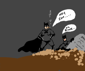 Bruce Wayne's parents rise from the grave