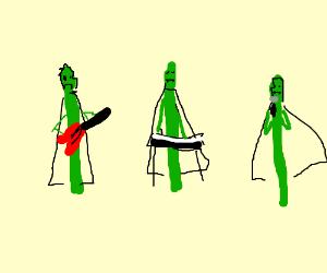 Asparagus Vampire band