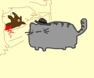 Pusheen in The Catfather
