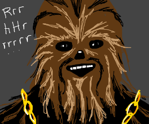 Chewbacca's failed audition for Public Enemy