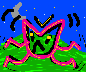 A creative new type of alien