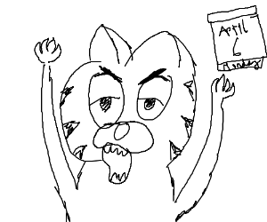 Garfield Hates Monday