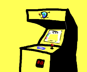 Drawception arcade game
