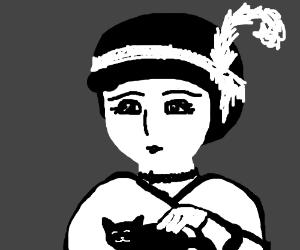 Flapper Girl loves kitteh.