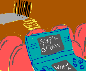 play super drawception world in a theather