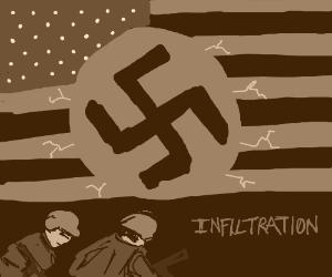 dang nazis in america????