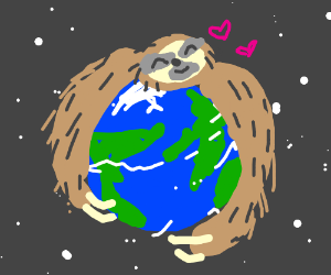 Sloth owns the world