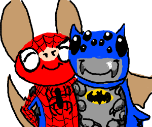 Spiderman is a bat and Batman is a spider