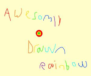 360 degree rainbow smiling