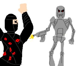Terminator VS Ninja -- Ninja Loses.
