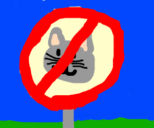 Image result for no cat zone