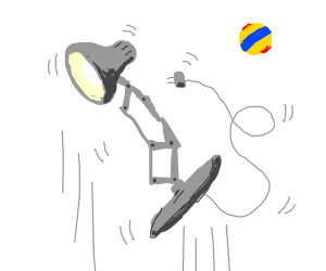 Zero Gravity Pixar Lamp