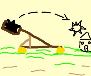 Spike-o-pult