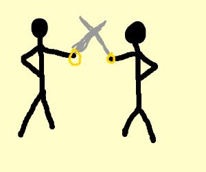 stickmen sword fighting