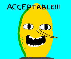 """Limongrabs shouting,""""ACCEPTABLE!!!"""""""