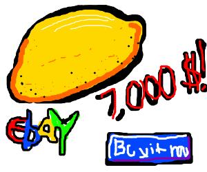 Very expensive lemon from eBay.