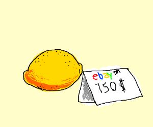 A 150 dollar lemon on eBay